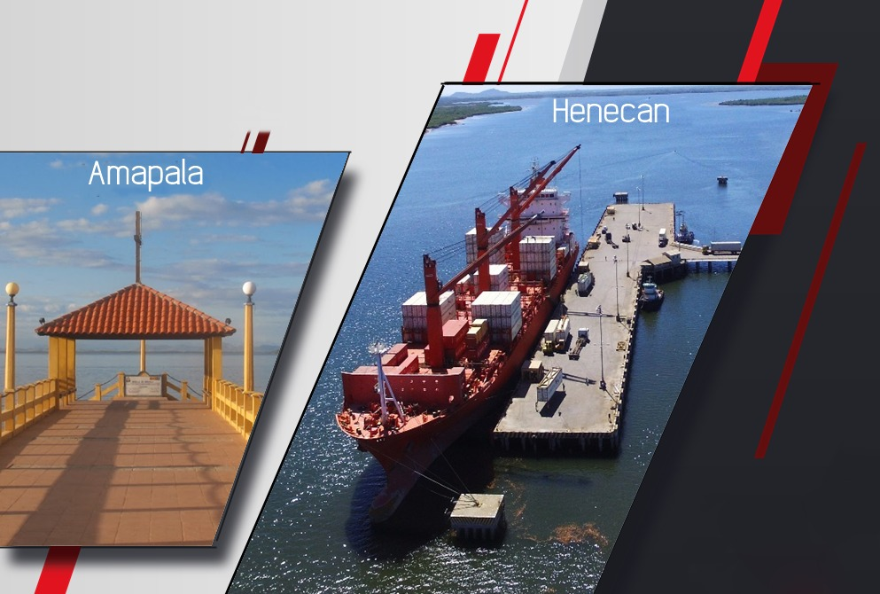 Reconstruction of the ports of Henecán and Amapala in Honduras
